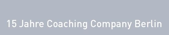 15 Jahre Coaching Company Berlin